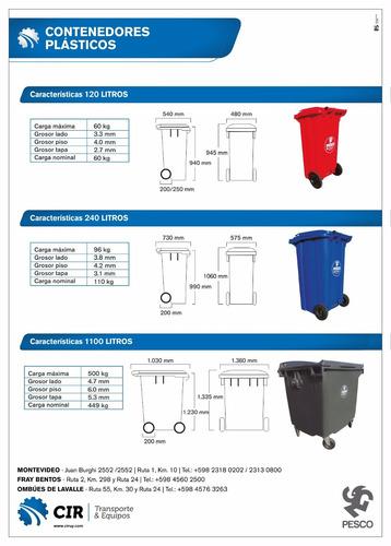 contenedor residuos con