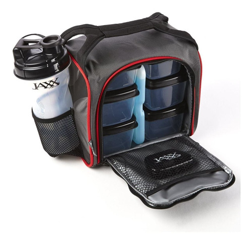 contenedor reutilizable con bolsa de hielo termo fitpak