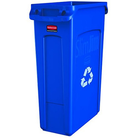 Contenedor Rubbermaid Commercial Products Slim Jim Recycling