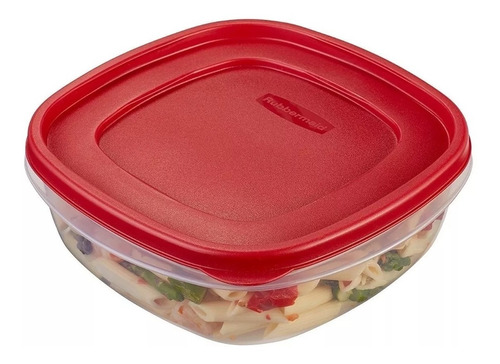 contenedor rubbermaid easy find lids 2,1 lts original usa
