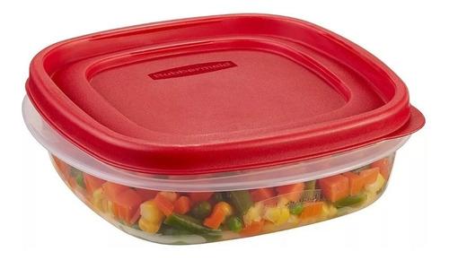 contenedor rubbermaid easy find lids 710 ml original usa