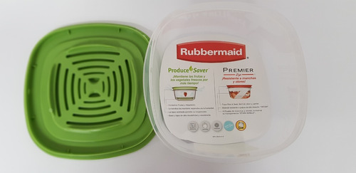 contenedor rubbermaid produce saver 3.3 lts. g7j92