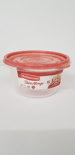 contenedor rubbermaid take alongs redondo 760ml g7f67