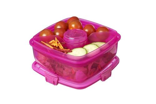 contenedor sistema almuerzo ensalada to ir , 37.1 oz - azul