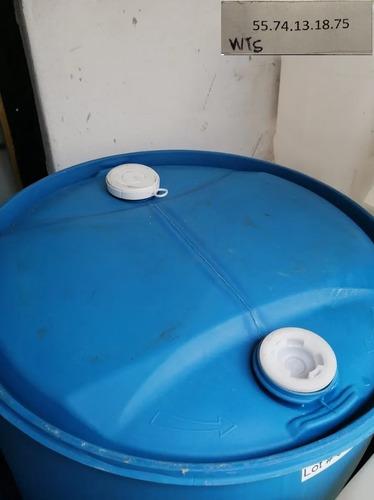 contenedor tambo de 200 litros limpio como nuevo solo un uso