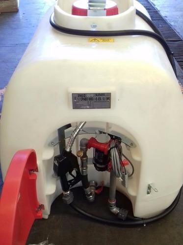 contenedor / tanque polietileno para despachar diesel 960 lt