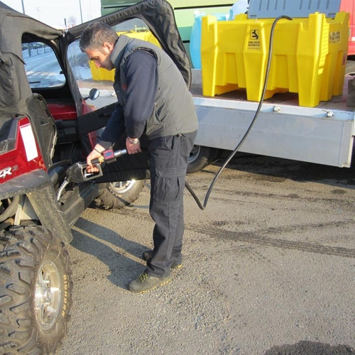 contenedor tanque polietileno para diesel 440 lt nuevo
