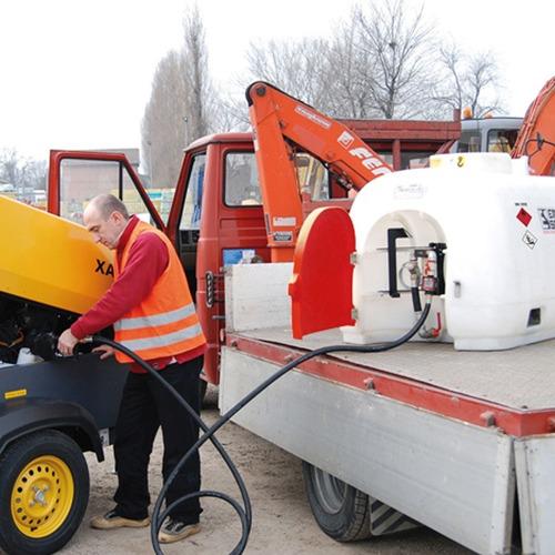 contenedor tanque polietileno para  diesel 960 lt nuevo