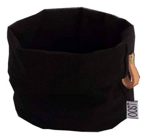 contenedor tela small oferta negro o gris