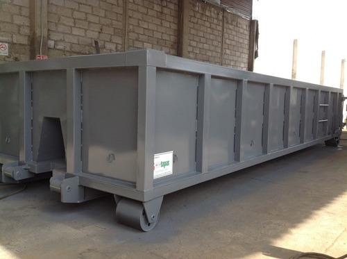 contenedor (tolvas) para roll off de 15,  21 y 30 mts3