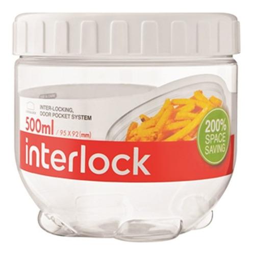 contenedor tupper lock & lock hermetico original + capacidad