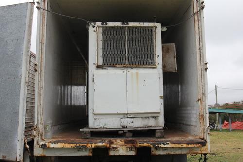 contenedor y remolque refrigerado