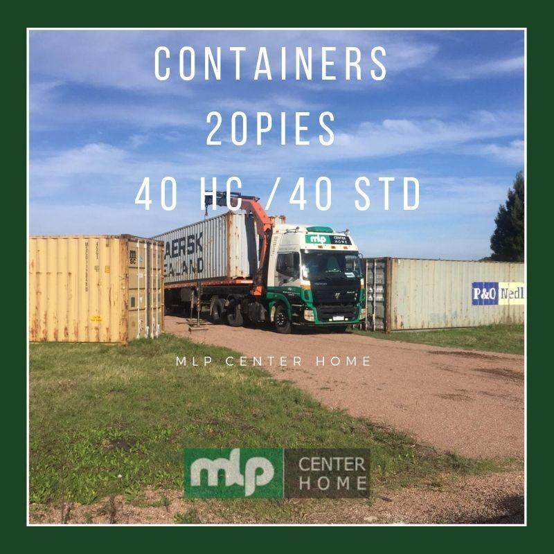 contenedores 20 / 40 dc /40 hc