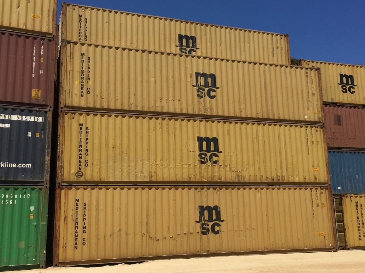 contenedores  40 pies hc envios a todo el pais