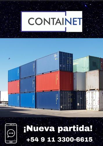 contenedores containers maritimos 40' 9 de julio containers