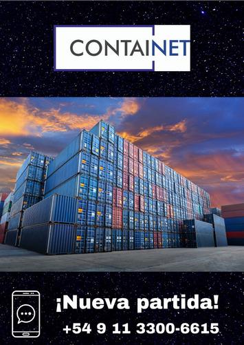 contenedores containers maritimos 40' hc usado navarro