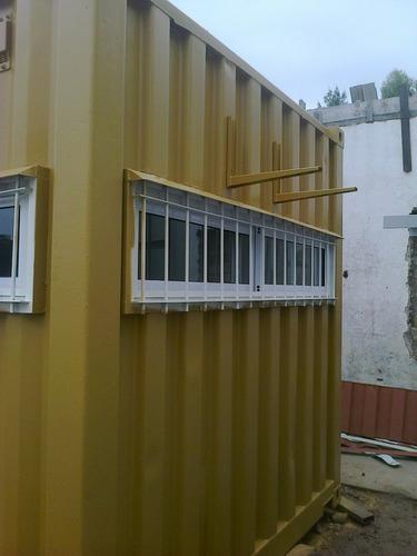 contenedores / containers marítimos oficina 20 pies