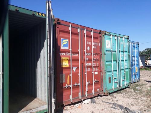 contenedores containers marítimos usados 20 pies nacionaliza