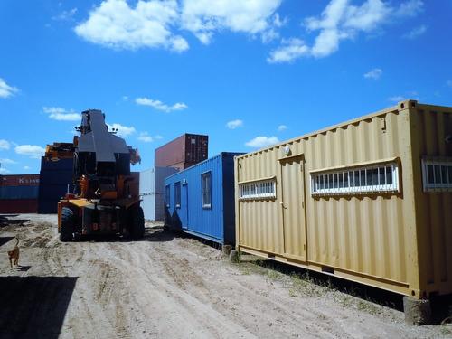 contenedores containers marítimos usados 20 pies segunda