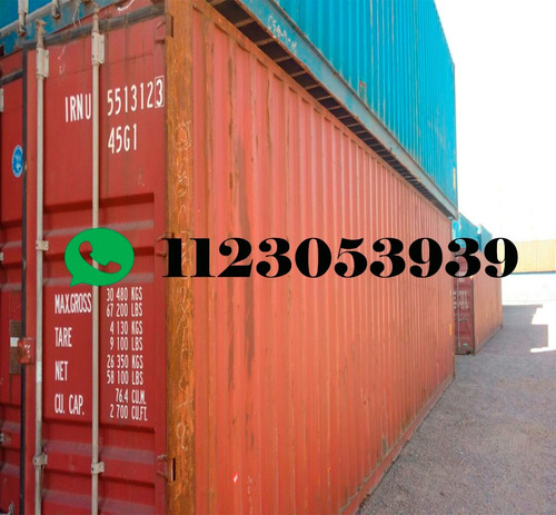 contenedores containers marítimos usados chubut 20 pies