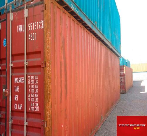 contenedores containers usados 40 hc la plata nacionalizados