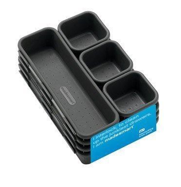 contenedores de almacenamiento con enclavamiento inteligente