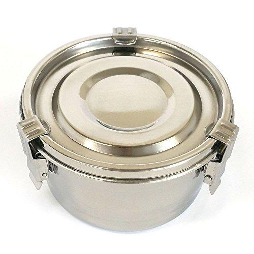 contenedores de almacenamiento de alimentos de acero inoxid