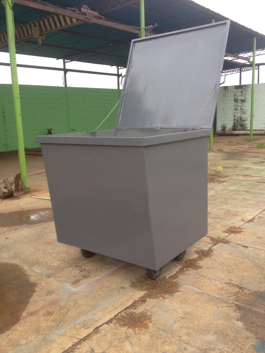 Contenedores de basura met licos bs en - Contenedores metalicos apilables ...