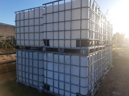 contenedores de mil litros limpios listo para usar