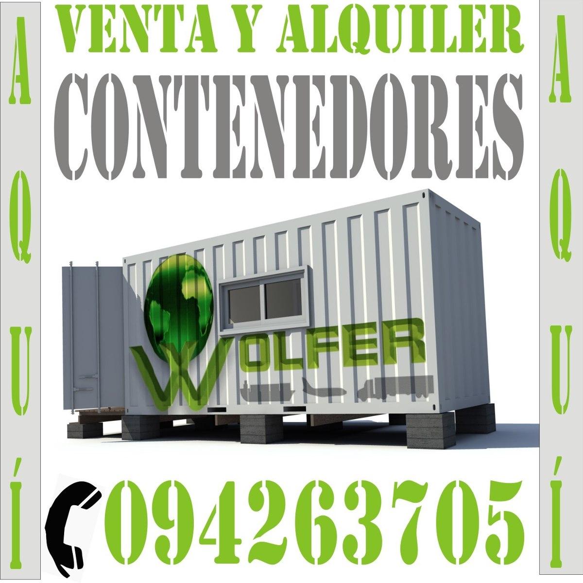 contenedores en uruguay  precio y calidad