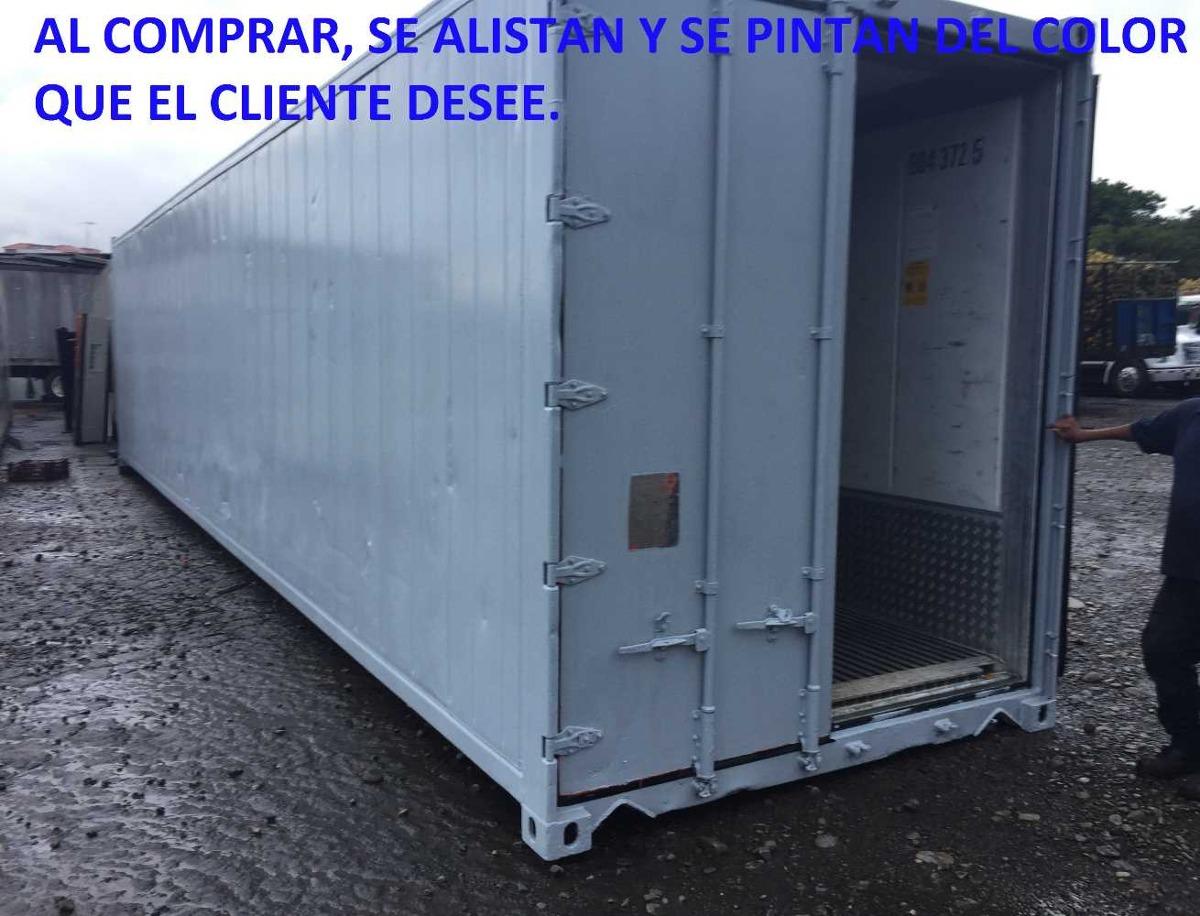contenedores insulados