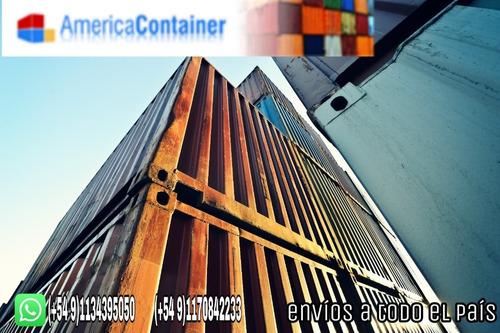 contenedores maritimos 20' containers a nacionalizar.