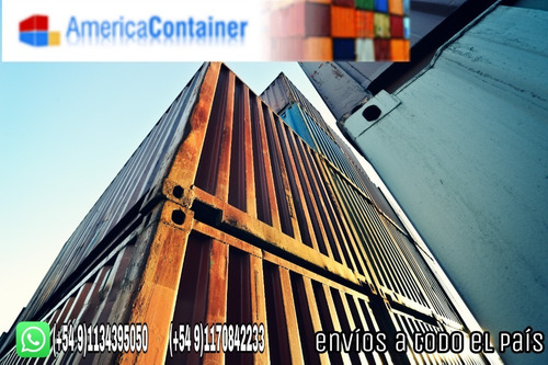 contenedores maritimos 20' containers misiones.