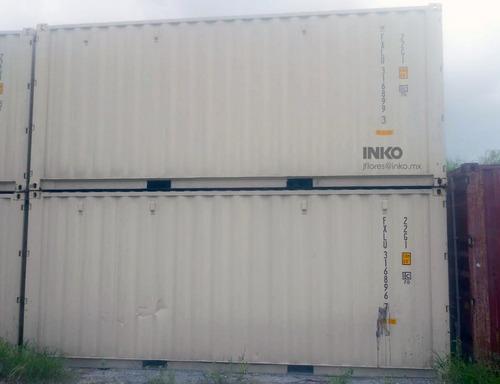 contenedores maritimos 20 double door