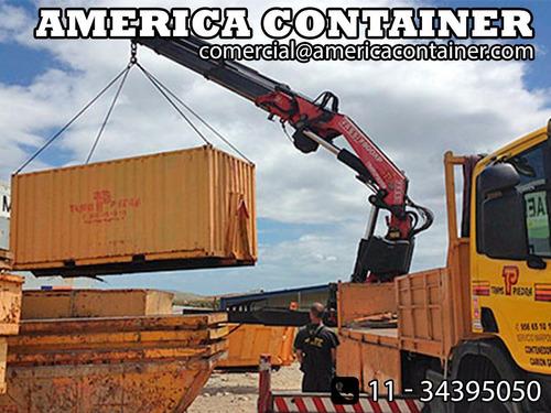 contenedores maritimos 20 pies costa atlantica