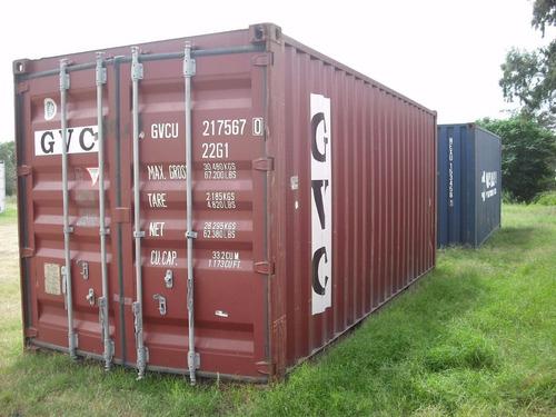 contenedores maritimos 20 pies nacionalizado corrientes