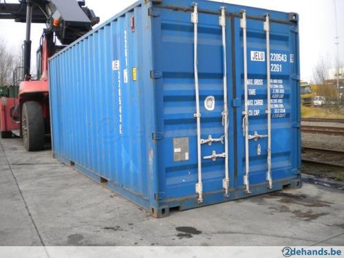contenedores maritimos 20 pies seco container obrador chubut