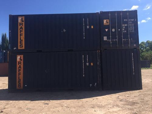 contenedores maritimos 20 pies st usados en bs as