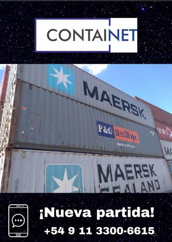 contenedores maritimos 40' hc usado san antonio de areco