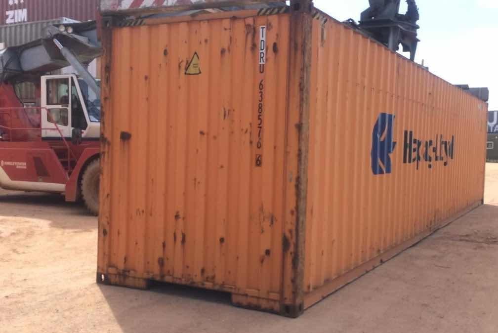 contenedores maritimos 40 pies hc
