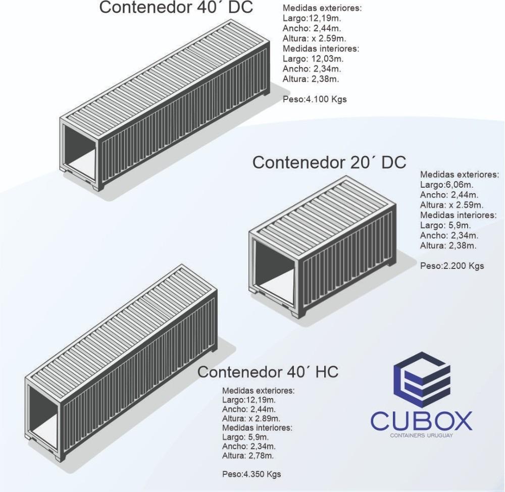 contenedores maritimos 40 pies hc alto usados,vacios,nuevos.