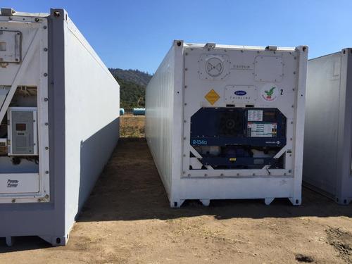 contenedores marítimos, bodega y refrigerados