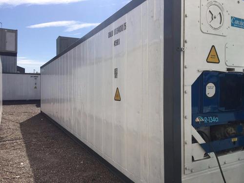 contenedores maritimos camara frio reefers 40 nacionalizado