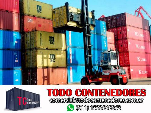 contenedores maritimos casa containers nacionalizados bs. as