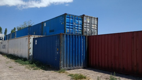 contenedores maritimos container 20´ azul nacionalizado