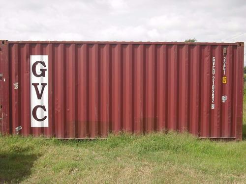 contenedores maritimos container 20' x 2 unid. nacionalizado