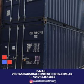 Contenedores Maritimos Container 20´ Zarate Bs As Interior
