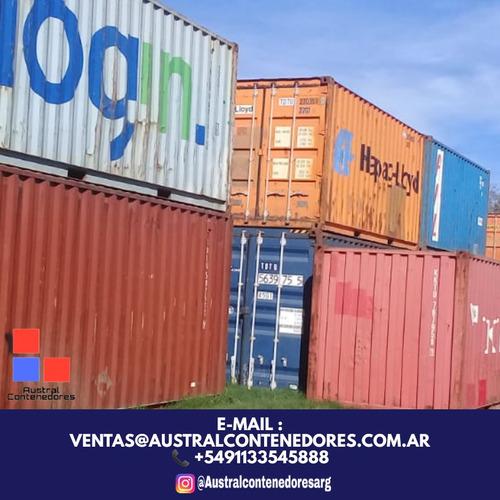 contenedores maritimos container usado 20´ buenos aires azul