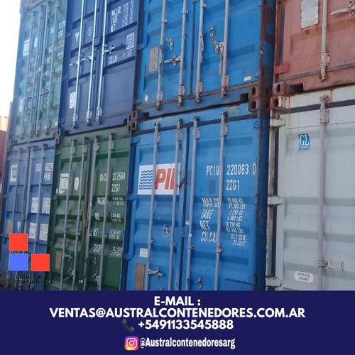 contenedores maritimos container usados 20´ seco arrecifes
