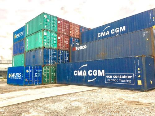 contenedores maritimos container usados 20´ seco bragado